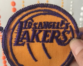 Vintage Los Angeles Lakers Patch