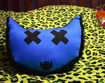 BLACK N BLUE Fluffy kitty Head