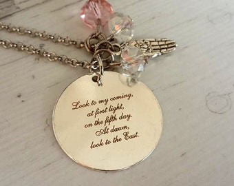 Mother's day gift , gift for mom ,Actual Handwriting necklace ,Personalized Necklace , LazerPrint Necklace  ,  Personalized Jewelry,