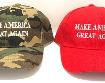President Donald Trump - Make America Great Again - High Quality Hat / Ball Cap - POTUS 45