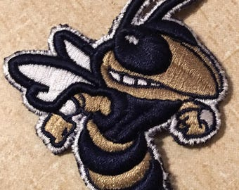Georgia Tech Yellow Jacket Embroidered Patch