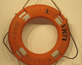 Vintage Nautical Life Ring