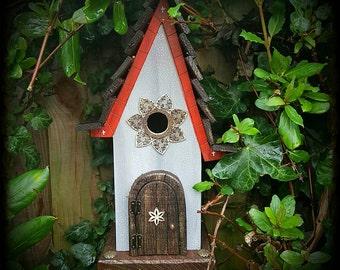 RAPUNZEL bird house/birdhouse /handmade /Garden art /bird houses /birdhouses/customizable colour