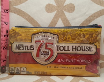 Nestle toll house chocolate chips zipper bag