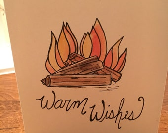 Positive Paper Co. Warm Wishes card