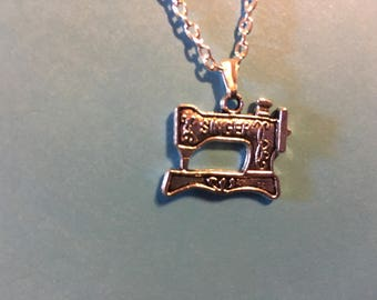 Sewing Machine Necklace   S5