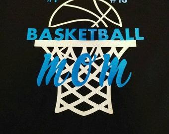 Basketball mom shirt, Long sleeve basketball shirts, basketball mom, basketball mom tee, Sports mom, Sports mom shirt, sports