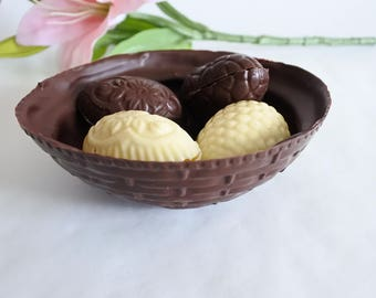 Chocolate Basket and Easter Eggs (Gluten & Soya Free)