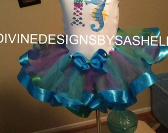 Under the Sea Inspired Tutu Set
