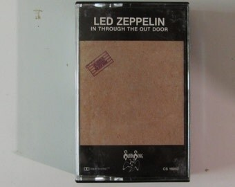 Led Zeppelin In Through The Out Door Cassette 1979