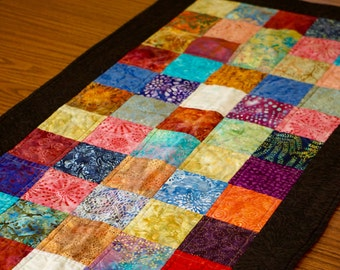 Colorful Batik Table Runner