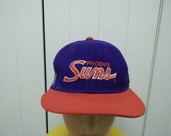 Rare Vintage PHOENIX SUNS Full Cap Size 7