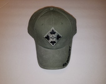 4th Infantry Division Cap, Army Caps, Military Accessories, Army Accessories