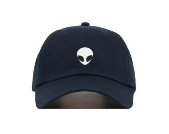Alien Embroidered Baseball Cap