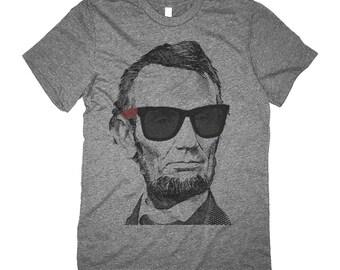 Abraham Lincoln Shirt - Cool Abe Lincoln Shades Retro Shirt