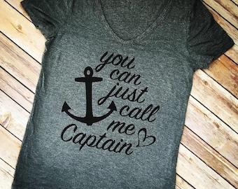 You can just call me Captain. Captain. Sailor. Sailing. Sail away with me.