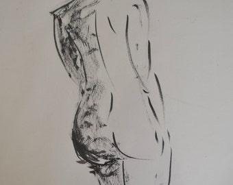 Ink life drawing