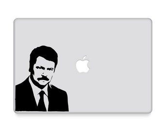 Ron Swanson Decal - Parks and Rec / Stickers / Ron Swanson Poster