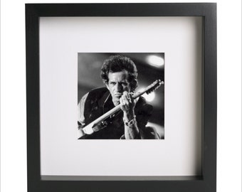 Keith Richards Rolling Stones photo print | Use in IKEA Ribba frame | Looks great framed for gift | Free Shipping | #1