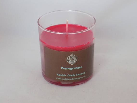 Pomegranate Scented Candle in Straight Tumbler
