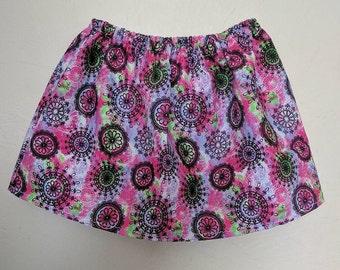 Tie Dye Flower Skirt
