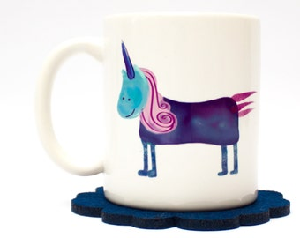 unicorn mug, unicorn coffee mug, girlfriend gift, christmas gift for best friend, bff gift, cute mug for her, christmas gift for girlfriend
