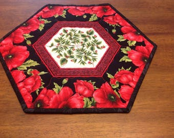Quilted Flower Table Mat