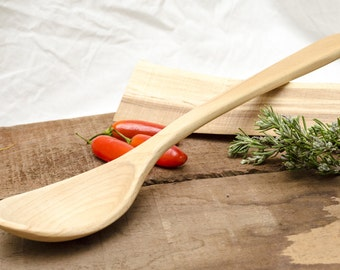 Cooking Spoons in Maple