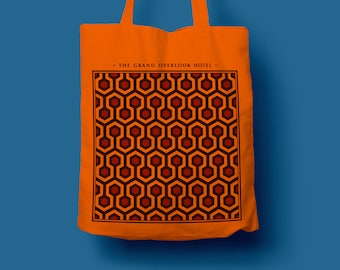 Tote Bag Overlook Carpet, totebag, sac coton, sac de toile, sac de plage, sac à main, The Shining, shining pattern, stanley kubrick