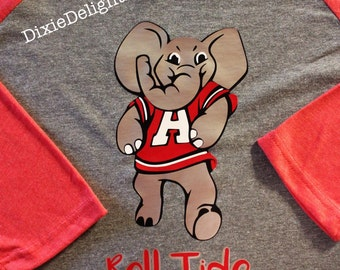 Big Al Roll Tide Shirt