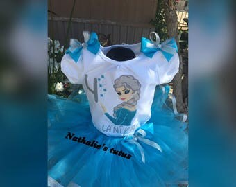 Ready to ship Elsa Tutu and Elsa dress  Birthdays, Pageants, Photos