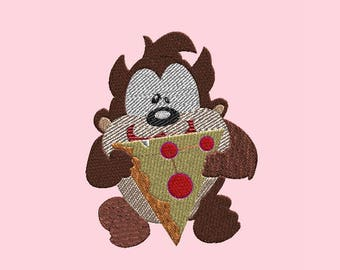 Embroidery Design-Embroidery Design: Baby Looney Tunes-Taz
