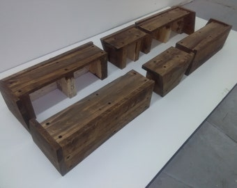Bed Risers For CB2's Andes Acacia Bed