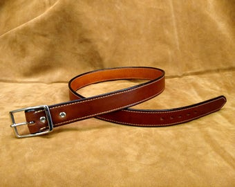 """40"""" Hand Made Leather Belt"""