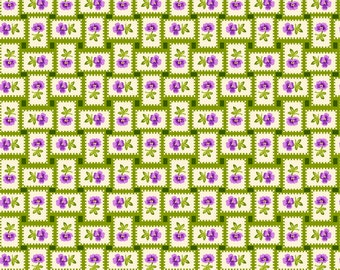 Purple Passion 4105-61354-6 Green Weave from Exclusively Quilters