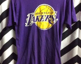 T-shirt - Vintage LA Los Angeles Lakers - Softy thin Tee