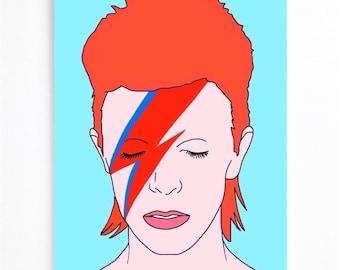 David Bowie Card