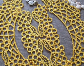 Lace set, tatting - Machine Embroidery Design