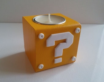 Mystery Cube candle holder