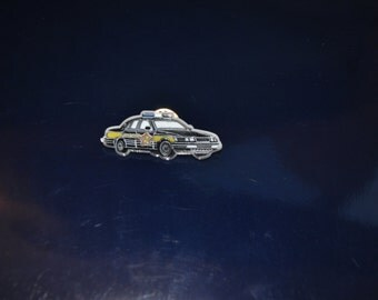 Sheriffs Car Pin, plastic