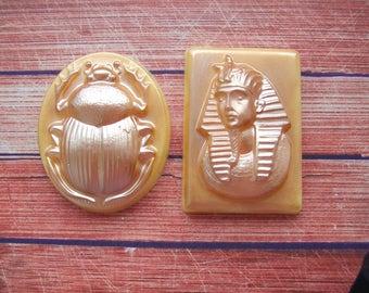 Soap Set Pharaoh bug Scarab Symbols of Egypt Soap Set Egyptian Attributes Egyptian Style in Soap
