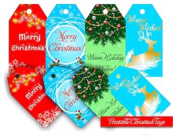 Printable Christmas Tags Christmas Tags Holiday Tags Christmas Tag Printable Christmas Tag Holiday gift tags Christmas Printable Party