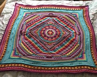 Sophie's universe blanket / throw / lapghan