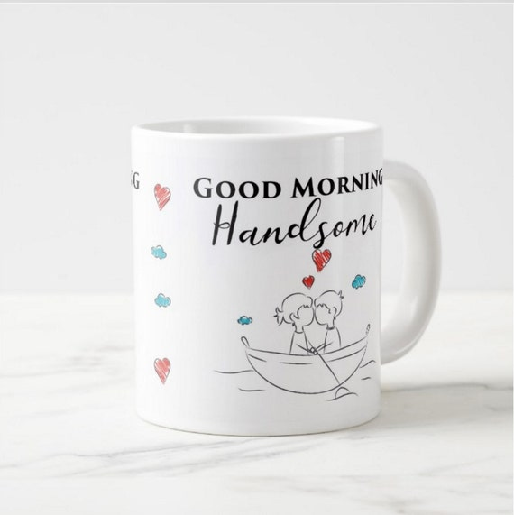 Good Morning Beautiful Couple : Good morning handsome beautiful hand drawn