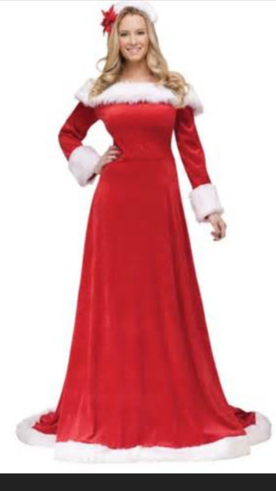 Items similar to mrs claus costume santa