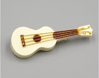 Vintage Celluloid Ukulele Pin