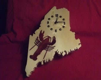 Maine State Lobster Clock