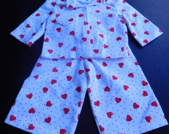 18 inch Flannel Pajamas