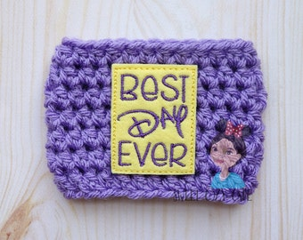 Best Day Ever Coffee Cup Cozy