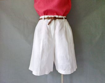 Vintage linen shorts size S/M/L